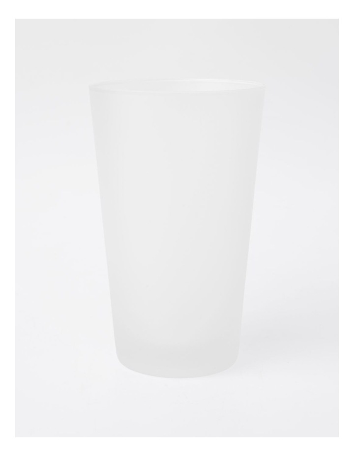 Frosted Tumbler in White image 1