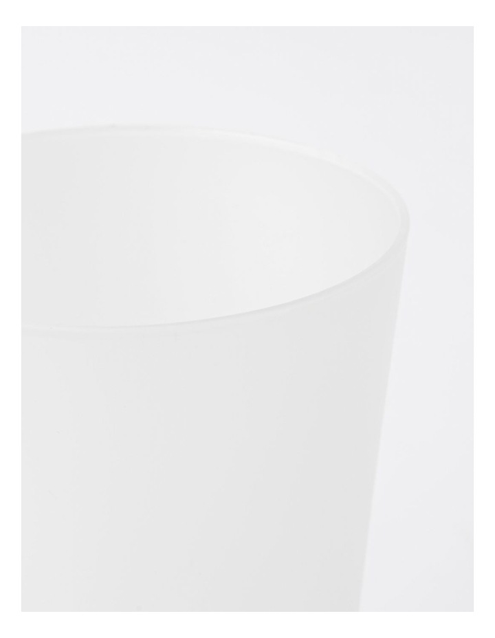 Frosted Tumbler in White image 2