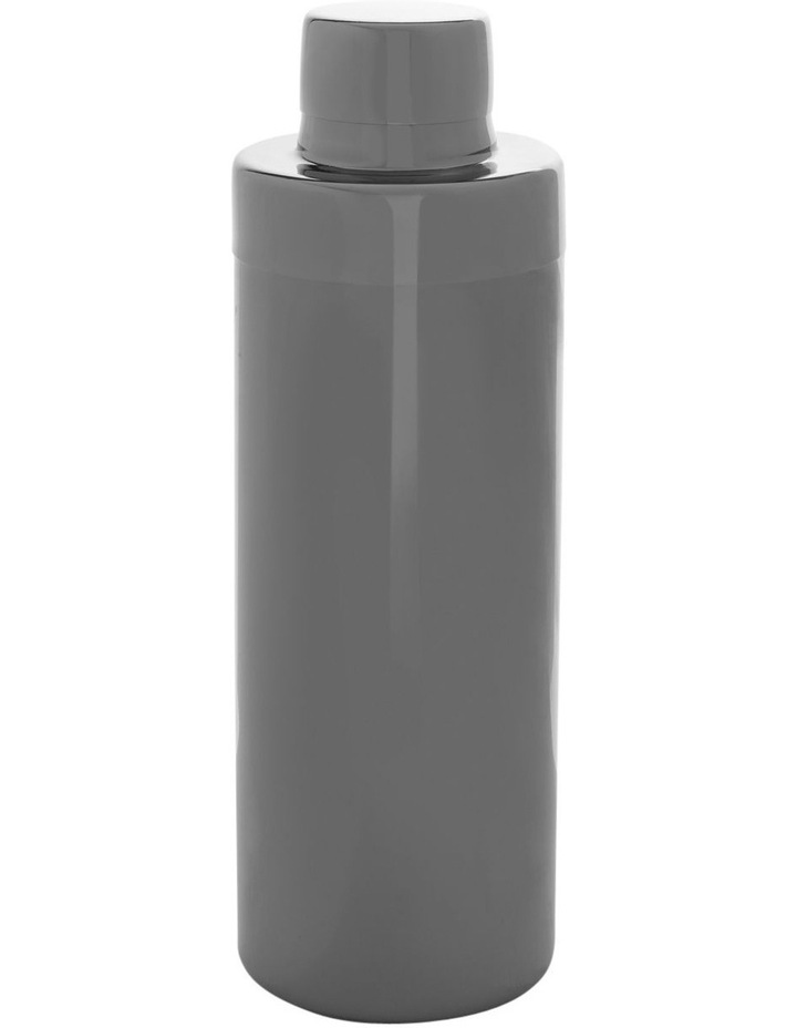 Stainless Steel Black Cocktail Shaker image 1