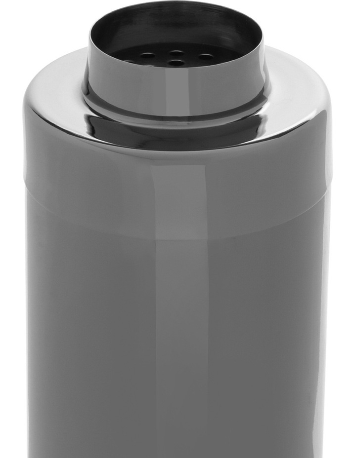 Stainless Steel Black Cocktail Shaker image 2