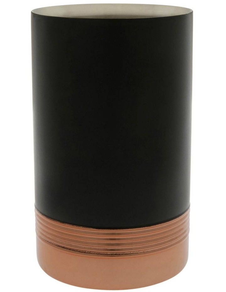 Black/Copper Wine Cooler image 1