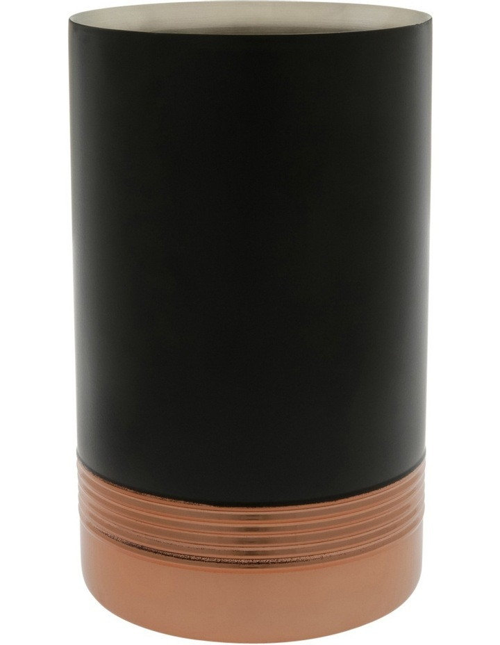 Black/Copper Wine Cooler image 1