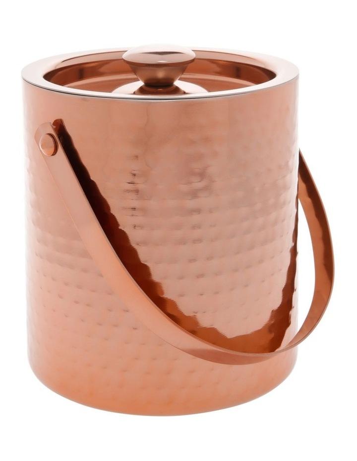 Camara Hammered Ice Bucket Copper image 1