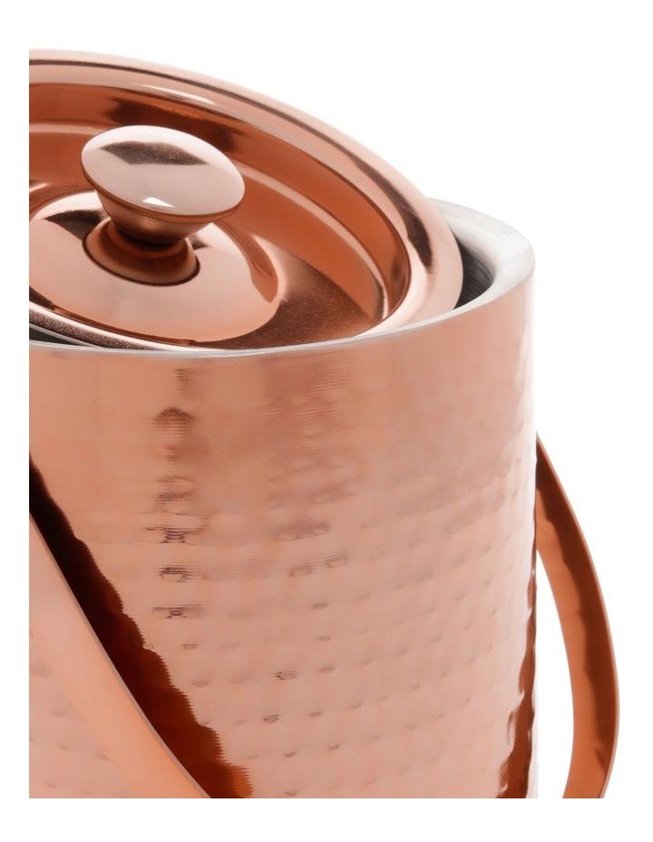 Camara Hammered Ice Bucket Copper image 2