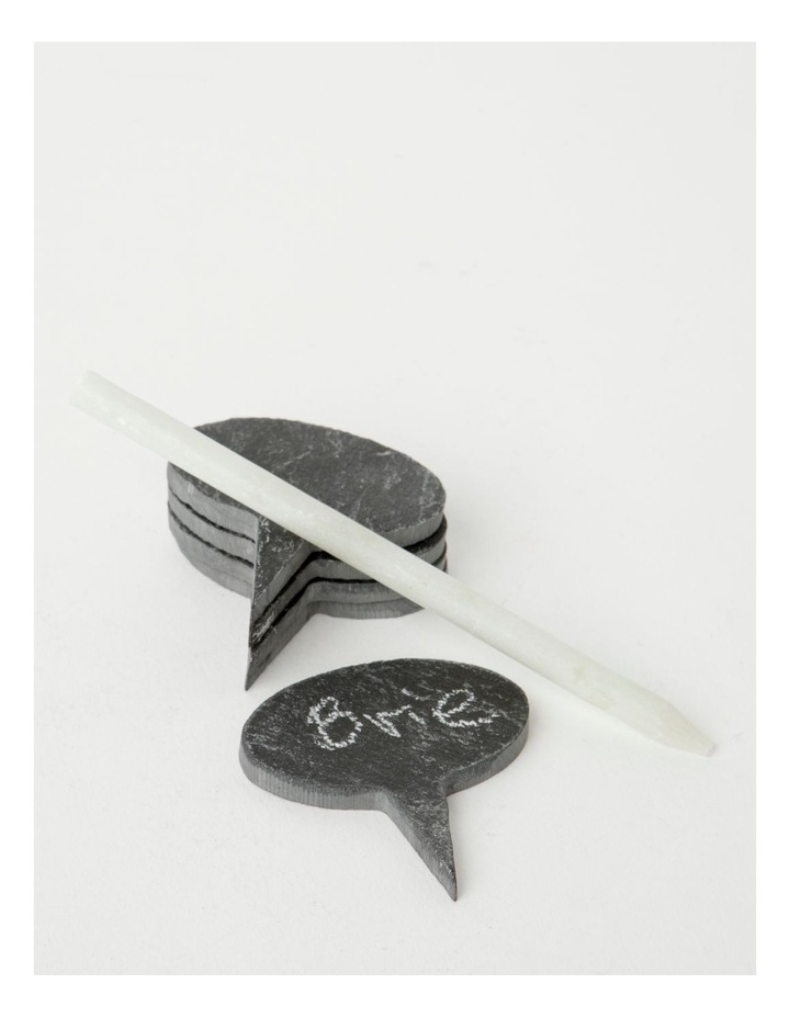 Slate Cheese Markers Set Of 5 image 1