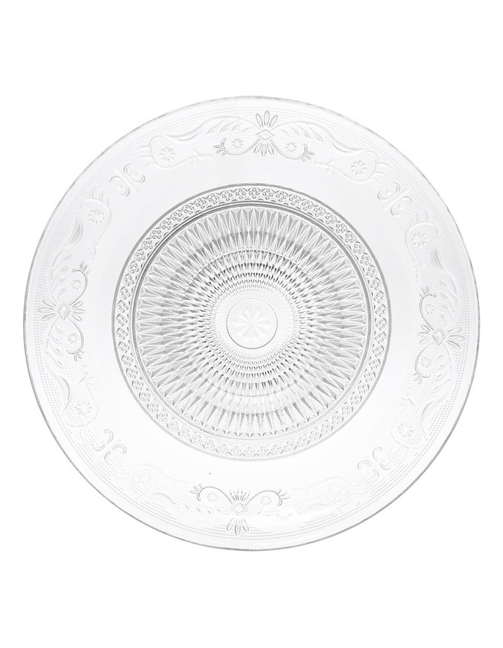 Clear Glass Serving Plate 29cm image 1