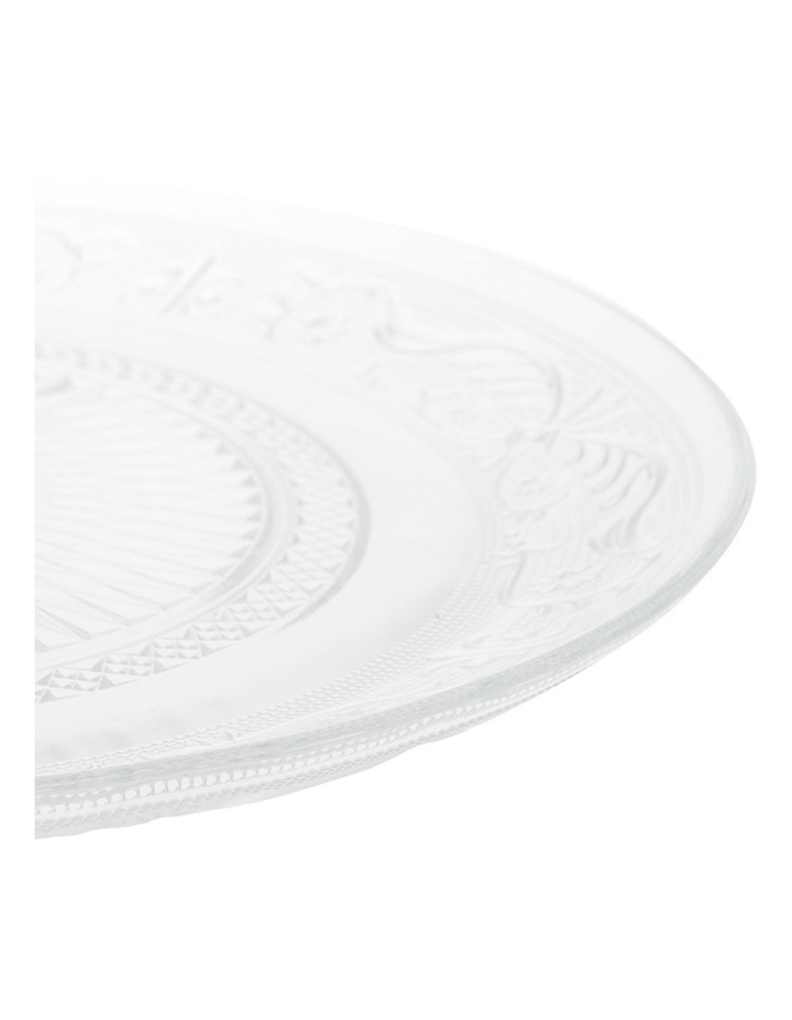 Clear Glass Serving Plate 29cm image 2