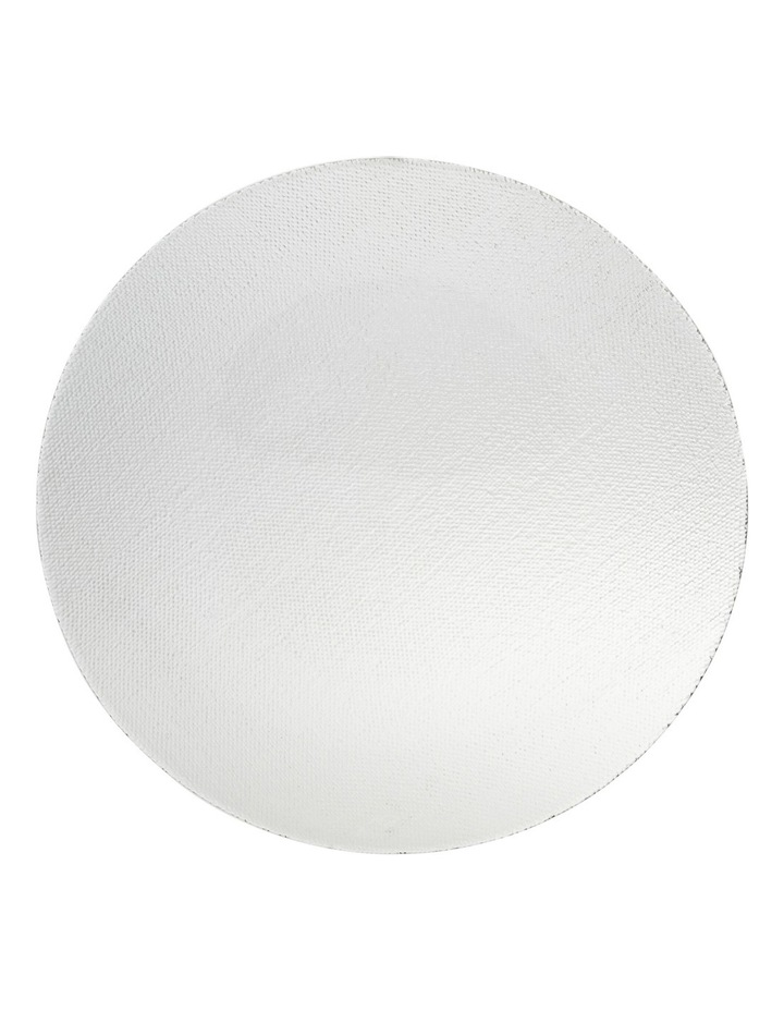 Cotton Print Glass Platter 32cm image 1