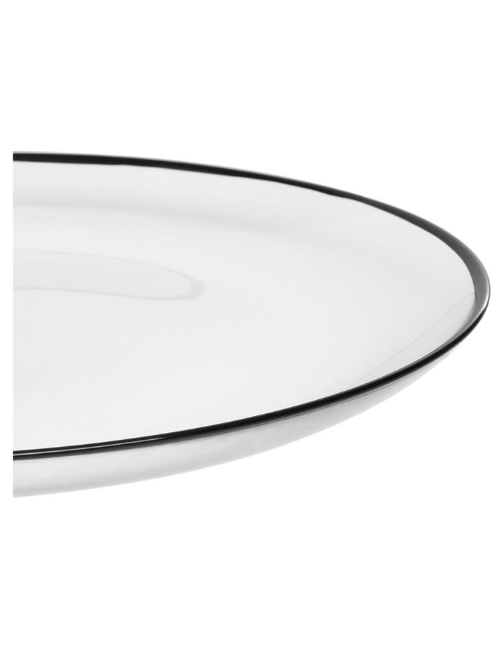Manhattan Plate with Black Rim 32cm image 4