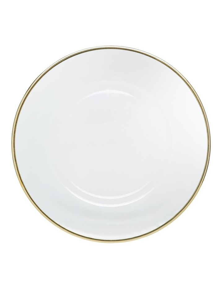 Verona Plate with Gold Rim 32cm image 1