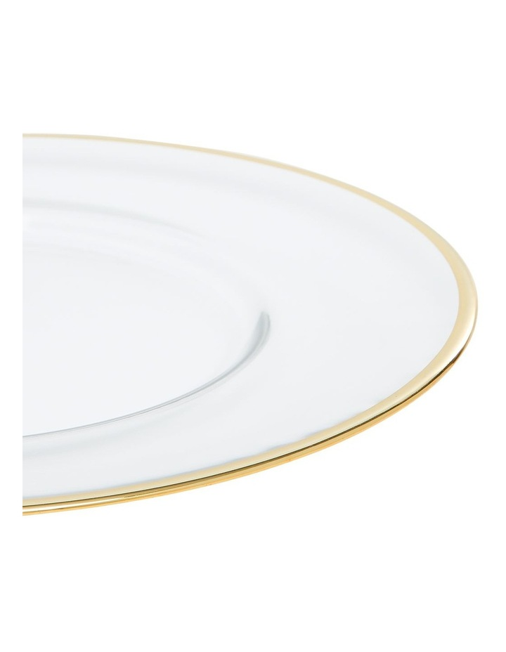Verona Plate with Gold Rim 32cm image 3