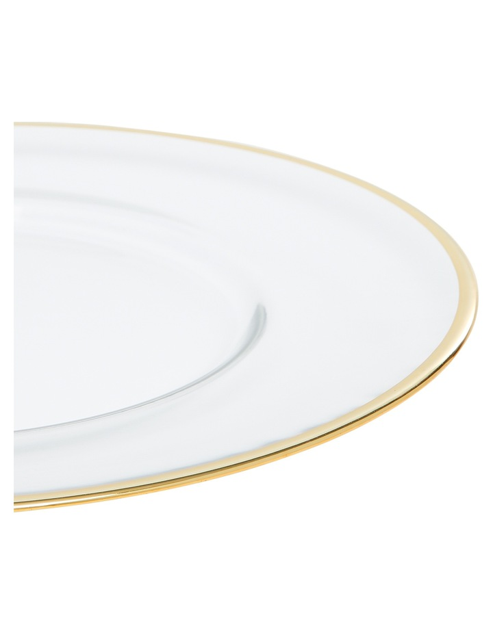 Verona Plate with Gold Rim 32cm image 4