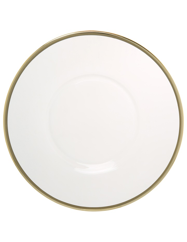 Verona Plate with Gold Rim 22cm image 2