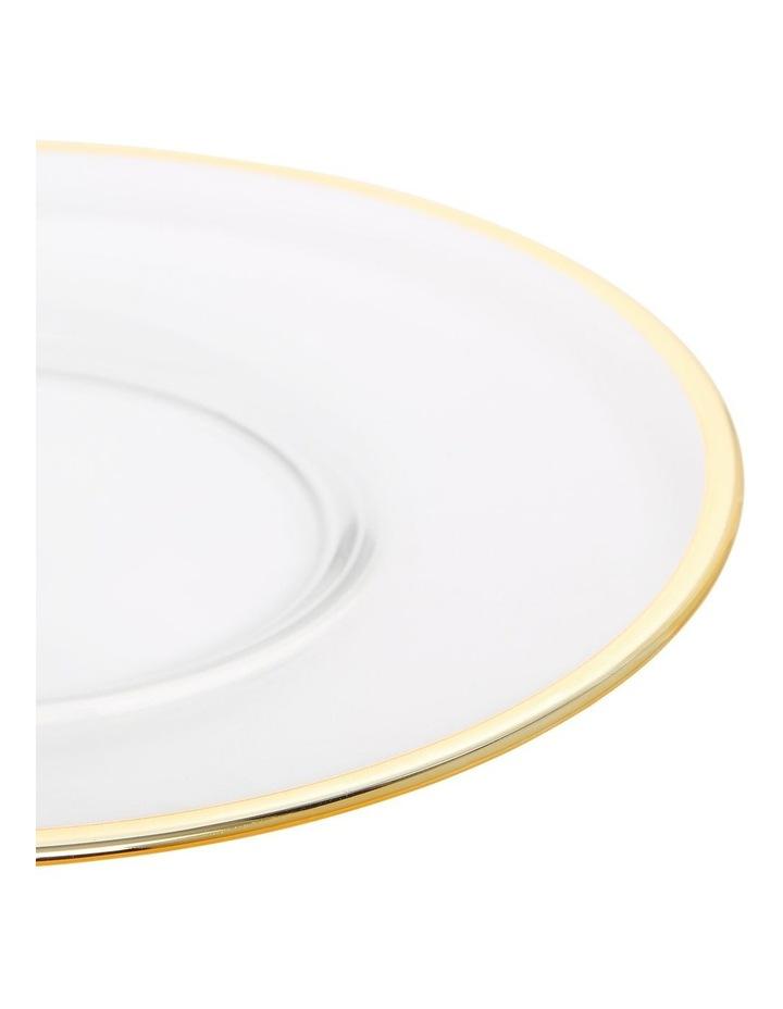 Verona Plate with Gold Rim 22cm image 3