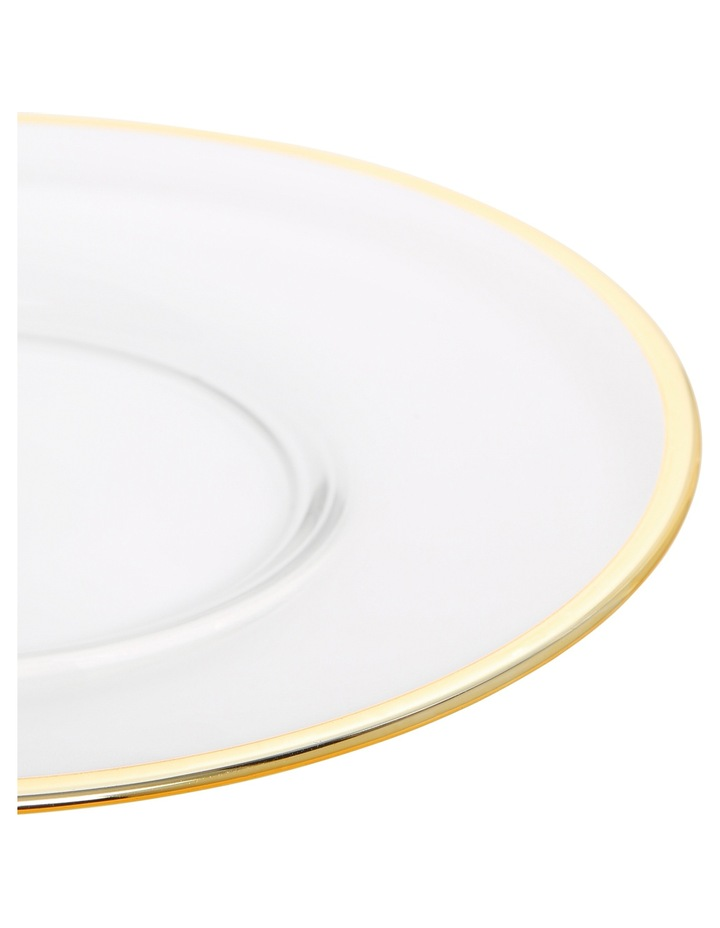 Verona Plate with Gold Rim 22cm image 4