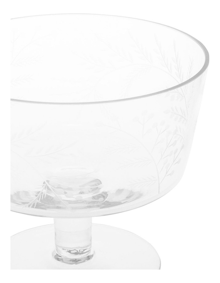 Etched Bloom Trifle Bowl Small image 2