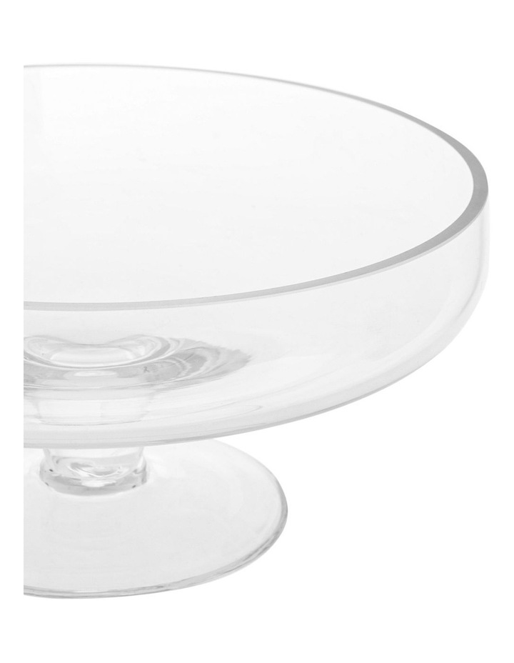 Evelyn Glass Cake Dome and Stand image 3