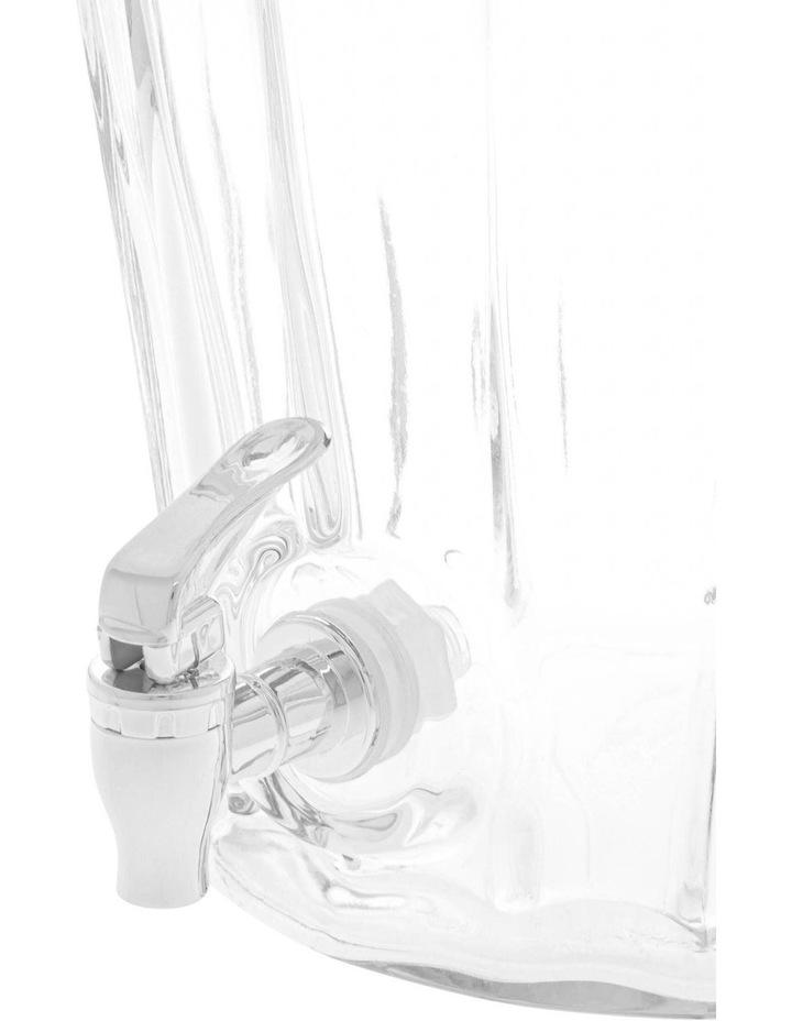 Evelyn Ribbed Glass Beverage Dispenser 8.7L image 2