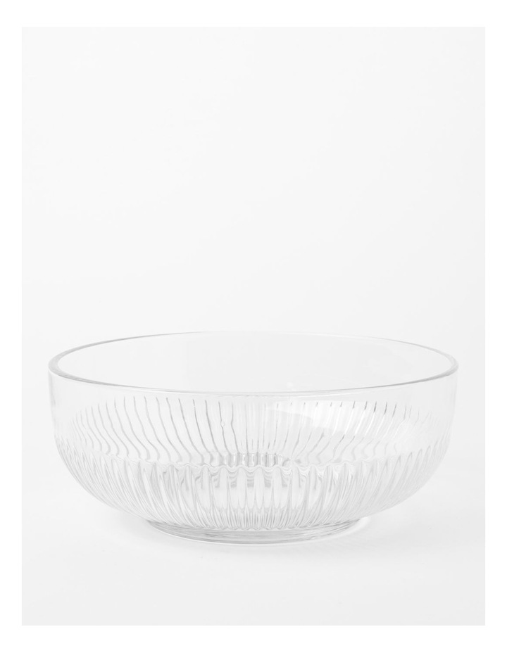 Mable Large Ribbed Dish 23cm image 1