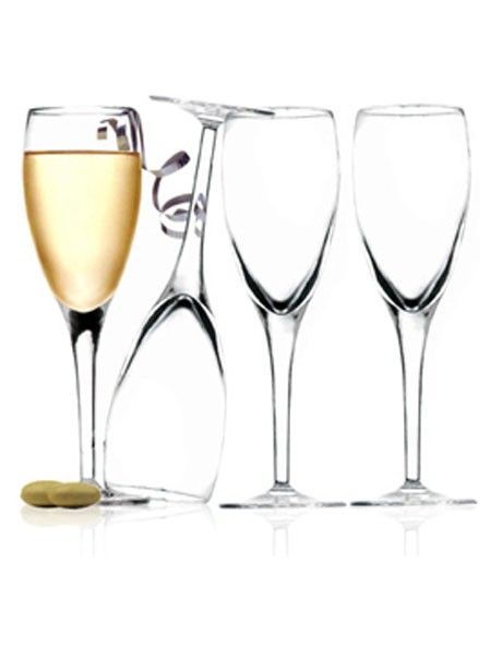 Masterpiece Champagne Flute  Set of 4 image 1