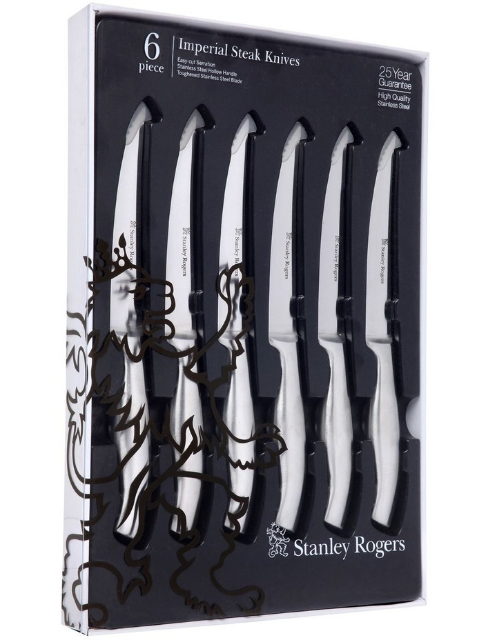 Imperial 6 Piece Steak Knife Set image 1