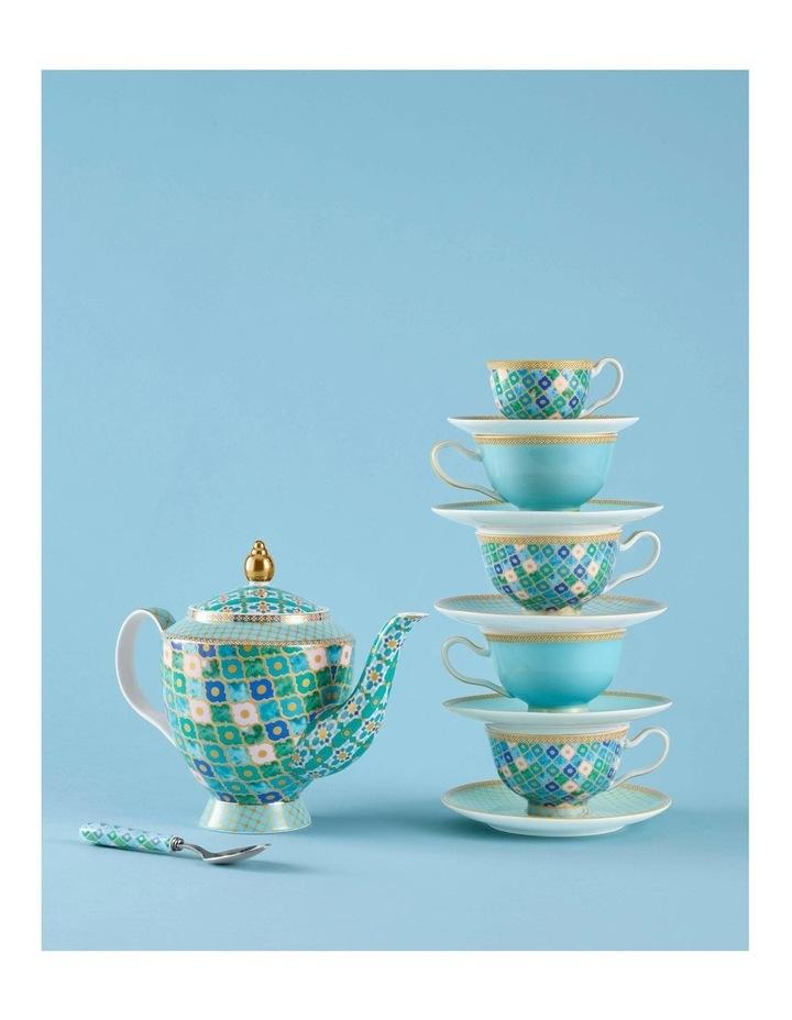 Teas & C's Kasbah Teaspoon Set of 4 Mint Gift Boxed image 2