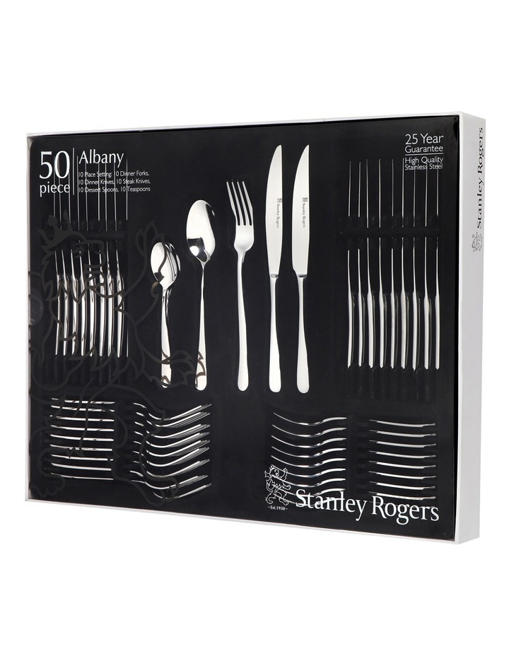 Albany 50 Piece Cutlery Set image 2