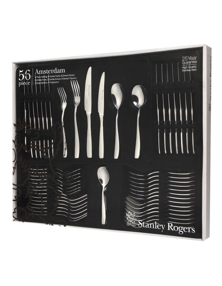Amsterdam 56 piece cutlery set image 2