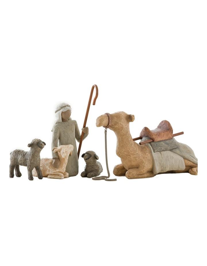 Shepherd and Stable Animals image 1