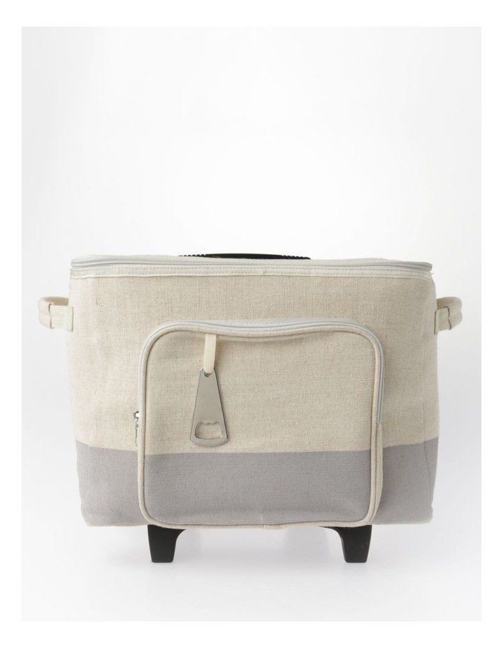 Short Square Cooler Bag With Wheels image 1