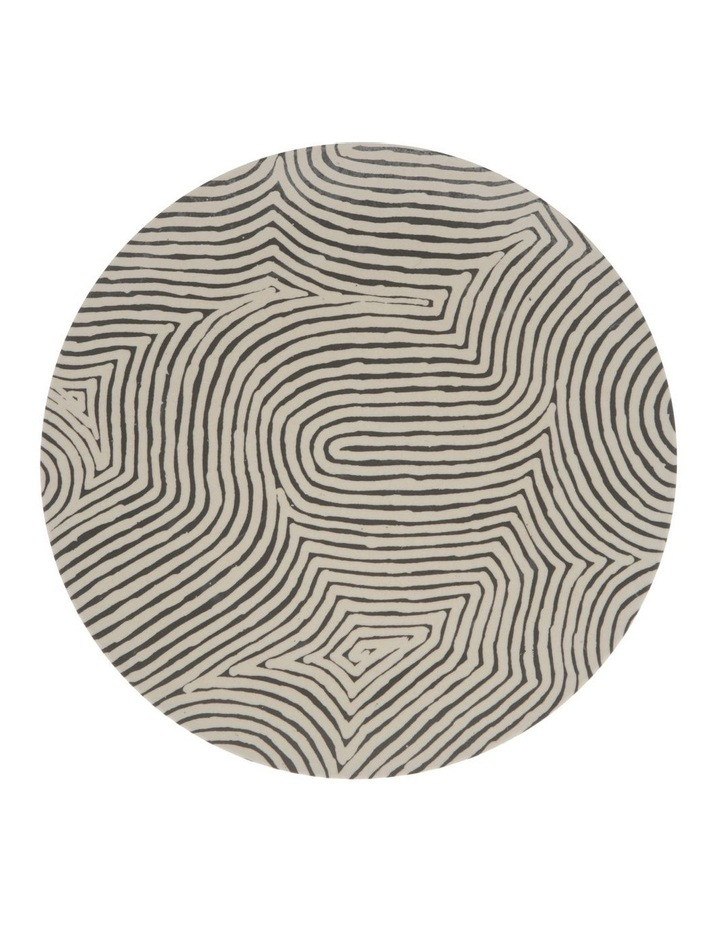 Walter Jangala Brown Tingari Cycle Big Plate image 1
