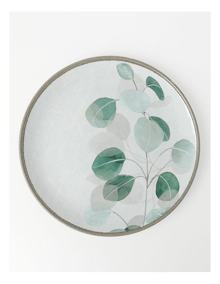 Eucalyptus Leaves Dinner Plate image 1