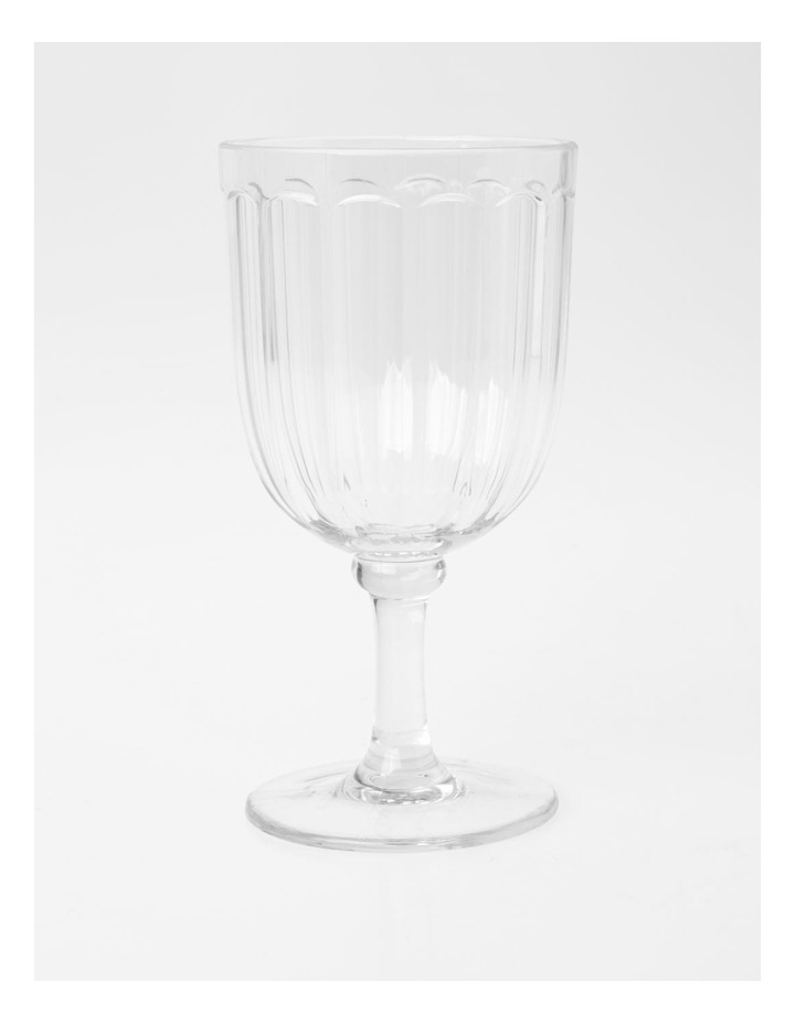 Clear Panel Goblet image 1