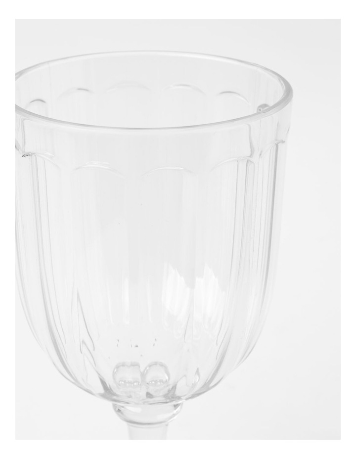 Clear Panel Goblet image 2