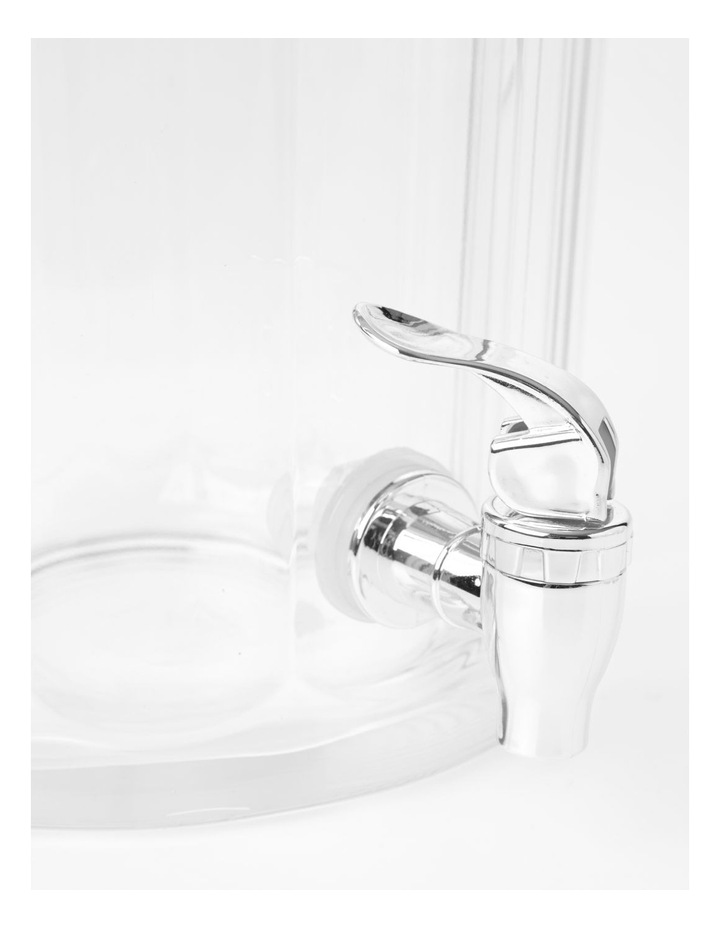 Panel Drinks Dispenser with stacking Tumblers Clear image 2