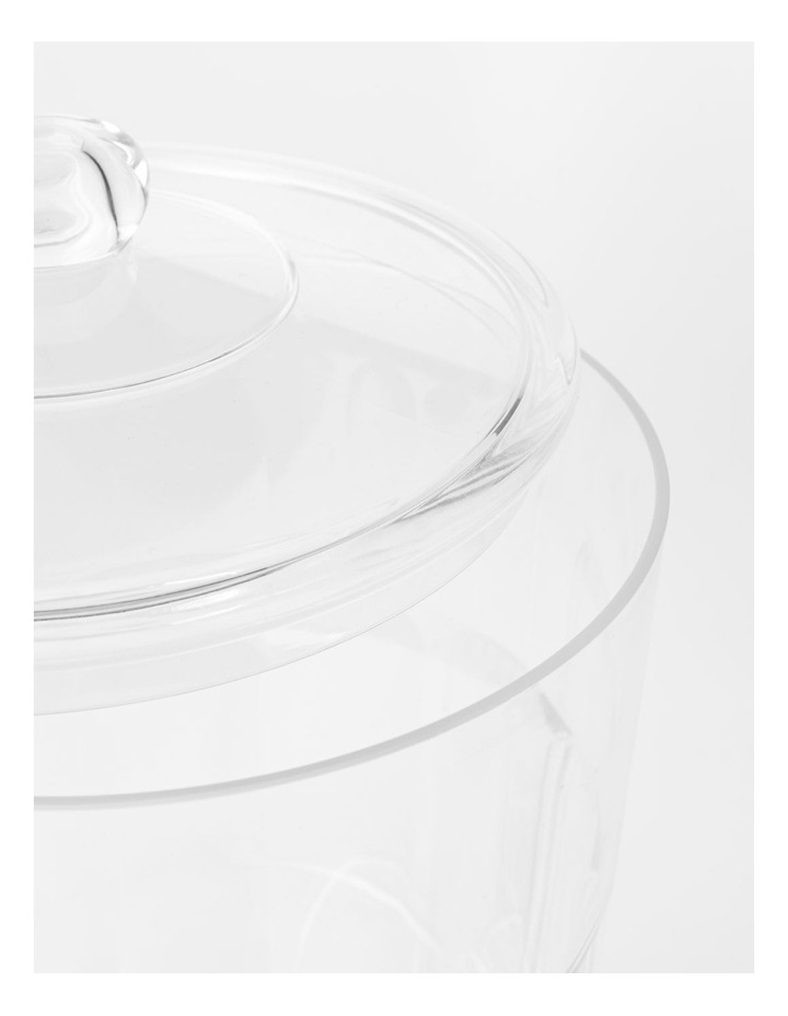 Panel Drinks Dispenser with stacking Tumblers Clear image 3