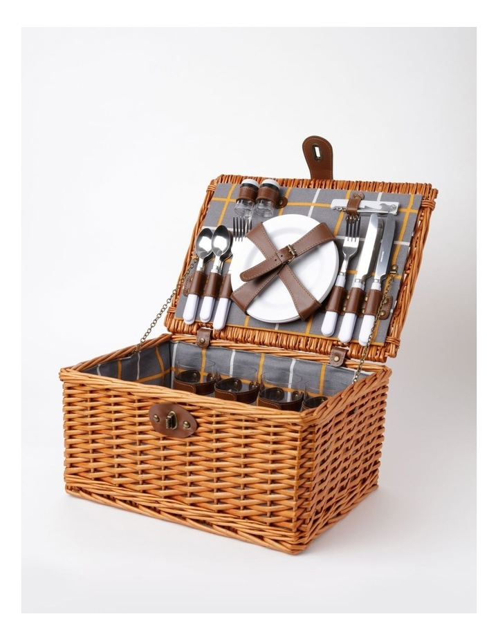 Daylight Picnic Basket for 4 People in Honey image 2