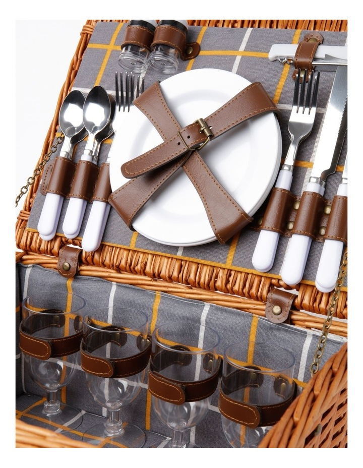 Daylight Picnic Basket for 4 People in Honey image 3