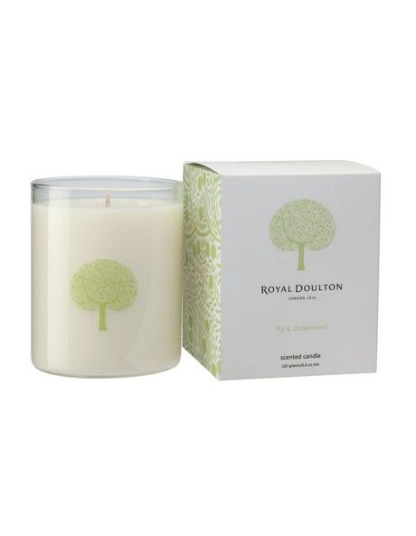 Fable Scented Candle Fig & Cedarwood image 1