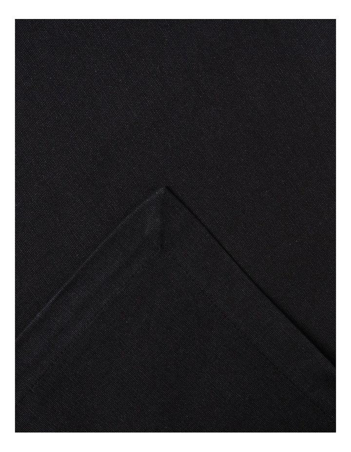 Manhattan Tablecloth 180 x 280cm Black image 1