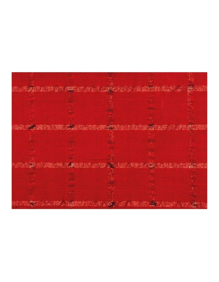 Comet Tablecloth 150x225cm Red image 2