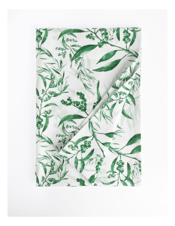 Wattle Tablecloth Green 150 x 220cm image 1