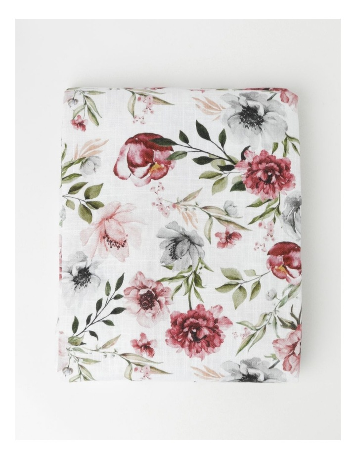 Floral Printed Tablecloth image 1