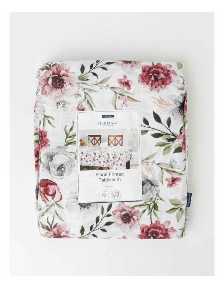Floral Printed Tablecloth image 3