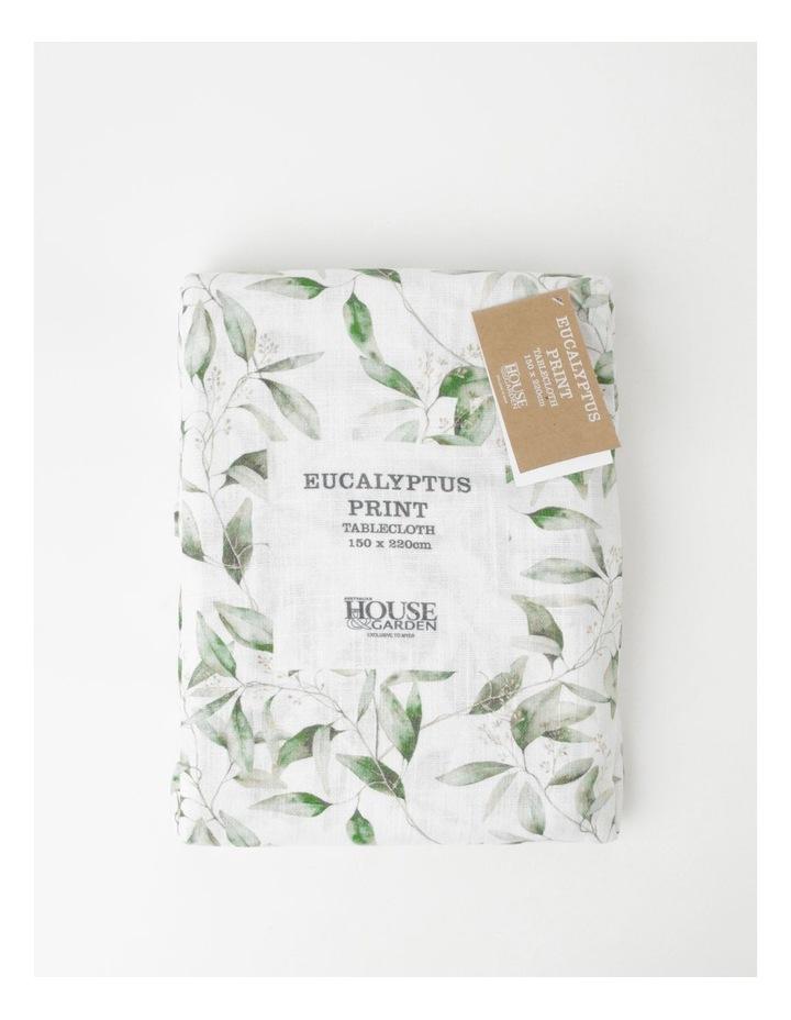 Eucalyptus Print Tablecloth image 4