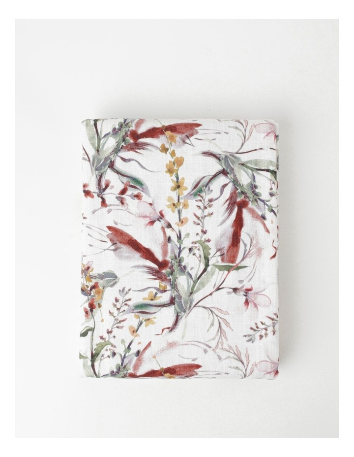 Australian Floral Printed Tablecloth image 1