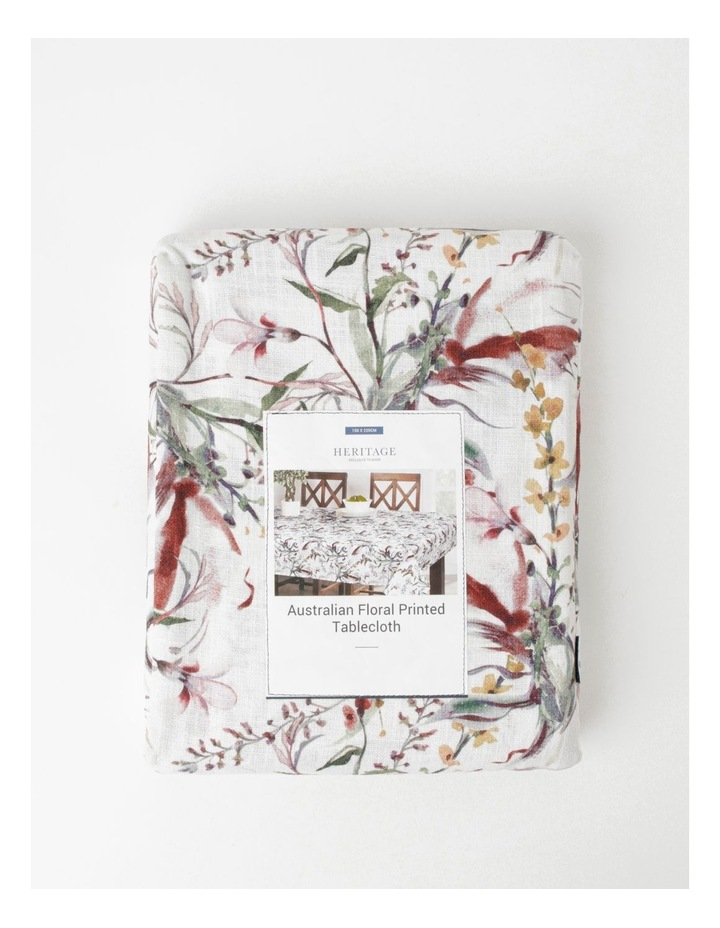 Australian Floral Printed Tablecloth image 4