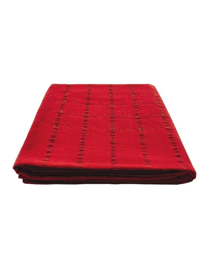 Comet Red 150x255cm Tablecloth image 1