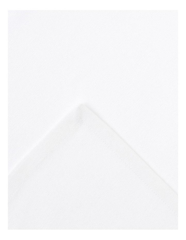 Manhattan Napkin set of 4 50 x 50cm White image 2