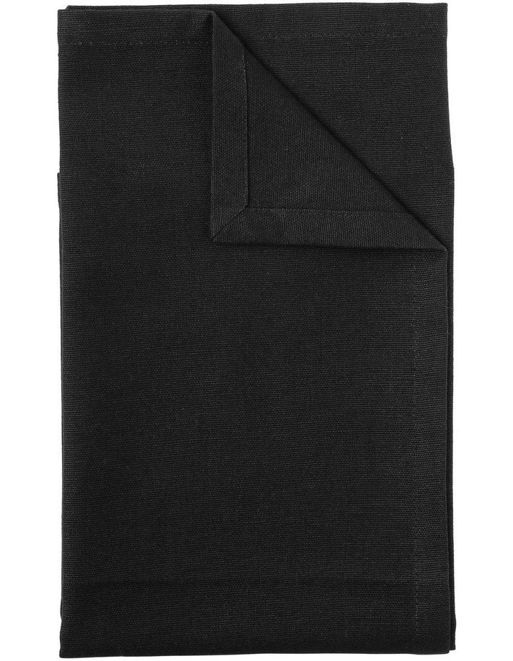 Manhattan Napkin set of 4 50 x 50cm Black image 1